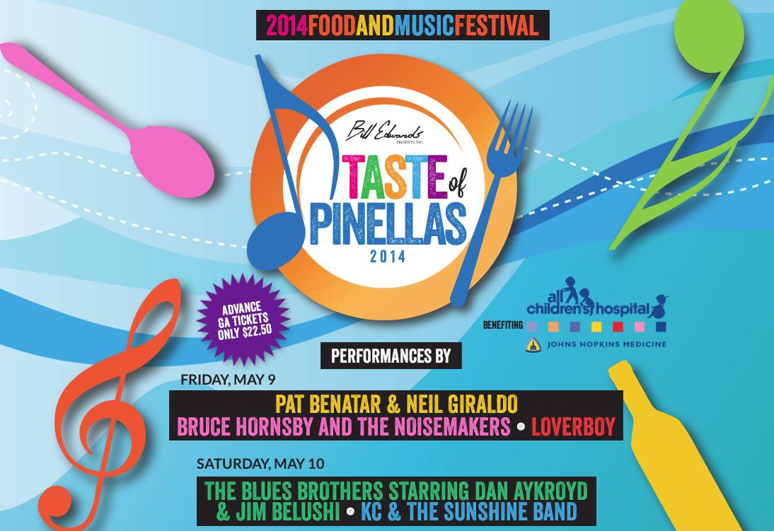 Taste of Pinellas 2014 – May 10th