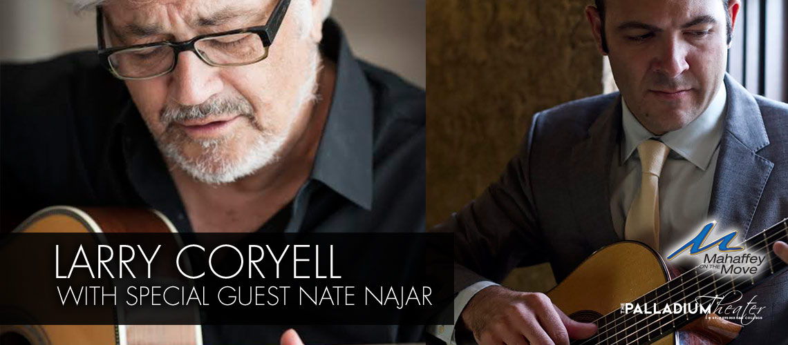Larry Coryell with Special Guest Nate Najar
